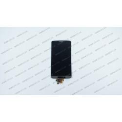 Модуль матрица + тачскрин  для LG G3 (D855/D858/D859), grey