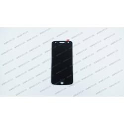 Модуль матрица + тачскрин  для Motorola XT1650-03 Moto Z , black