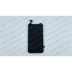 Модуль матрица + тачскрин для HTC Desire 310 Dual Sim, black, оригинал
