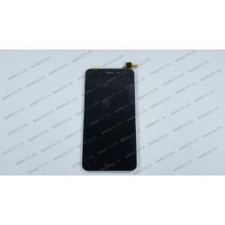 Модуль матрица + тачскрин для Huawei Honor 6C Pro, Honor V9 Play (JMM-L22) REV.2, black