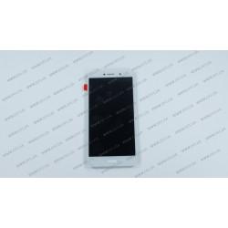 Модуль матрица + тачскрин для Huawei Honor 6X (BLN-L21), GR5 (2017), Mate 9 Lite, white,оригинал