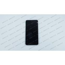 Модуль матрица + тачскрин для Huawei Honor 7 Lite, Honor 5c (NEM-L51), black, оригинал