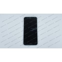 Модуль матрица + тачскрин для Huawei Nova 2, black