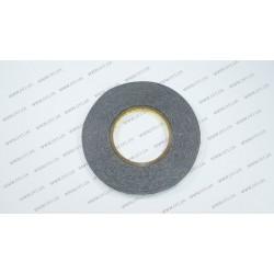 Скотч двухсторонний прозрачный 3M, черный, ширина 10мм, толщина 0,15 мм, длина - 50 метров (ОРИГИНАЛ)