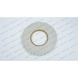 Скотч двухсторонний прозрачный 3M, белый, ширина 8мм, толщина 0,15 мм, длина - 50 метров (ОРИГИНАЛ)