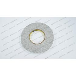 Скотч двухсторонний прозрачный 3M, белый, ширина 10мм, толщина 0,15 мм, длина - 50 метров (ОРИГИНАЛ)