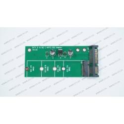 Переходник для ноутбуков M.2 NGFF SSD на SATA (для подключения M.2 NGFF в разъем SATA)