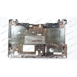 Нижняя крышка для ноутбука ASUS (X550 series), black (с USB разъемом) ОРИГИНАЛ С ДИНАМИКАМИ
