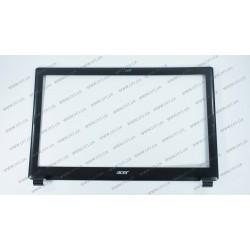 Рамка дисплея для ноутбука ACER (AS: V5-531, V5-571), black (ОРИГИНАЛ)