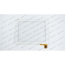 Тачскрин (сенсорное стекло) для Ritmix RMD-1058, PB97A8567, 9,7, внешний размер 237*181 мм, рабочая часть 196*147 мм, 6 pin, белый