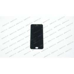 Модуль матрица + тачскрин для Meizu M2, M2 mini (M578), black, оригинал