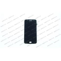 Модуль матрица + тачскрин для Motorola XT1793 G5S, black