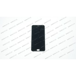 Модуль матрица + тачскрин для Meizu M2 Note, black, оригинал