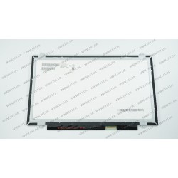 Матрица 14.0 B140XTN03.6 (1366*768, 40pin, LED, SLIM (вертикальные ушки), матовая, разъем справа внизу) для ноутбука
