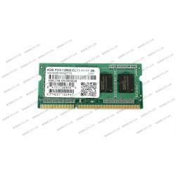 Модуль памяти SO-DIMM DDR3 4Gb 1600Mhz PC3-12800 GEIL Original для Ноутбука, 1.5V, CL11 (GS34GB1600C11S)