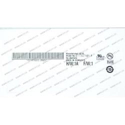 Матрица 17.3 B173QTN01.0 (2560*1440, 40pin(eDP, 120Hz), LED, SLIM(вертикальные ушки), матовая, разъем слева внизу) для ноутбука