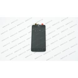 Модуль матрица + тачскрин для Motorola XT1750 C, black