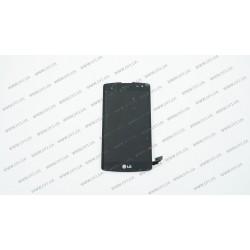 Модуль матрица + тачскрин для LG D295 L Fino Dual, D290, black, оригинал