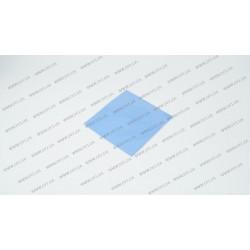 Термопрокладка силиконовая (100*100*1.00mm, 5.0 w/m-K) для ноутбуков (синяя)