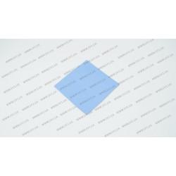Термопрокладка силиконовая (100*100*1.50mm, 5.0 w/m-K) для ноутбуков (синяя)