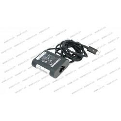 Оригинальный блок питания для ноутбука DELL USB-C 30W (20V/1.5A, 12V/2A, 5V/2A), USB3.1/Type-C/USB-C, Black