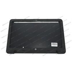 Крышка дисплея в сборе для ноутбука HP (Pavilion: 15-AC, 15-AF), black