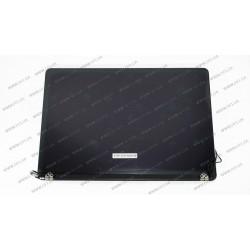 Крышка+матрица в сборе для ноутбука Apple A1398 2012-2014 (6 pin), Space Gray