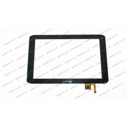 Тачскрин (сенсорное стекло) 300-H4444D-WB0, 10,1, внешний размер 259*169 мм, 12 pin, черный