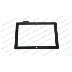 Тачскрин (сенсорное стекло) 10A01-FPC-1, 10,1, внешний размер 254*168 мм, 12 pin, черный
