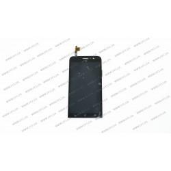 Модуль матрица + тачскрин для Asus ZB500KG, ZenFone GO, (854x480), X00BD, black