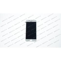 Модуль матрица + тачскрин для Asus ZC521TL, Zenfone 3S Max, X00GD, white
