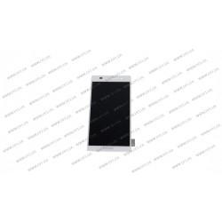 Модуль матрица + тачскрин для Huawei Ascend P6-U06, white