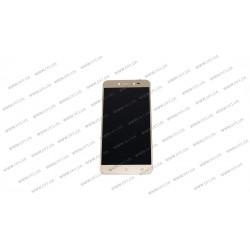 Модуль матрица + тачскрин для Asus ZB501KL, ZenFone Live, A007, X00FD, gold