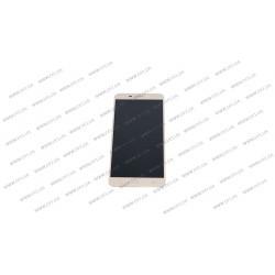 Модуль матрица + тачскрин для Asus ZC551KL, ZenFone 3 Laser, gold