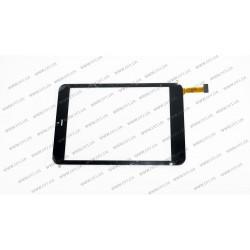 Тачскрин (сенсорное стекло) MT70821-V3, 7,85, внешний размер 197*132 мм, рабочий размер 160*120 мм, черный
