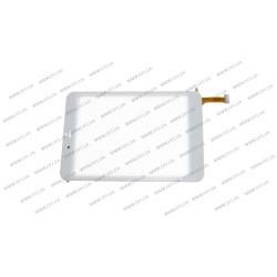 Тачскрин (сенсорное стекло) MT70821-V3, 7,85, внешний размер 197*132 мм, рабочий размер 160*120 мм, белый