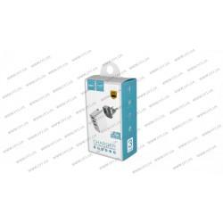Зарядное устройство Hoco C20 Yoke , 3USB 2.4A , белый