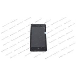 УЦЕНКА!Модуль матрица + тачскрин для Microsoft Lumia 532 DS (Nokia), black