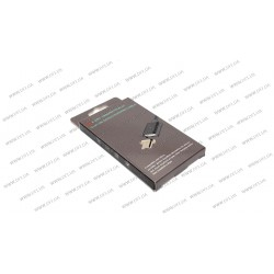 Кабель Clip-On Метал для MicroUSB , черный (магнитный)