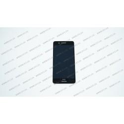Модуль матрица + тачскрин для HTC Desire 728G, Desire 728G Dual Sim, black