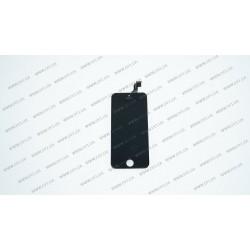 Модуль матрица + тачскрин для Apple iPhone 5c, black, оригинал