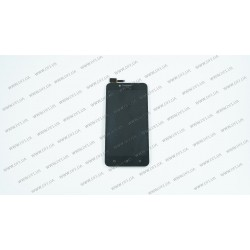 Модуль матрица + тачскрин для Lenovo A2020, a40 Vibe C, black, оригинал
