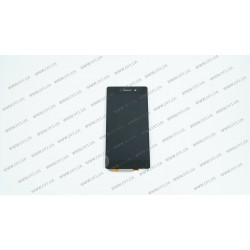 Модуль матрица + тачскрин для Sony D6502 Xperia Z2, D6503, black, оригинал