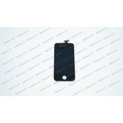 Модуль матрица + тачскрин для Apple iPhone 4S, black