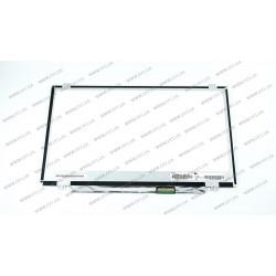 Матрица 14.0 N140BGE-L43 (1366*768, 40pin, LED, SLIM (вертикальные ушки), матовая, разъем справа внизу, W=320mm) для ноутбука