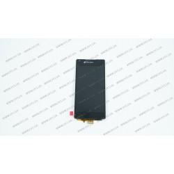 Модуль матрица + тачскрин для Sony Xperia Z3+ Z4+ DS E6533, black