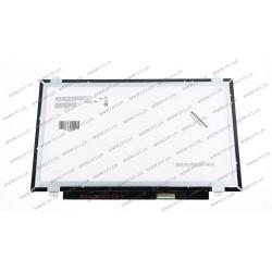 Матрица 14.0 B140XTN03.6 (1366*76, 40pin, LED, SLIM (вертикальные ушки), глянец, разъем справа внизу) для ноутбука