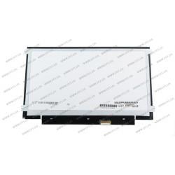 Матрица 11.6 LP116WH8-SPA1 touch (1366*768, 40pin(eDP), LED, SLIM(горизонтальные ушки), глянец, разъем справа внизу) для ноутбука