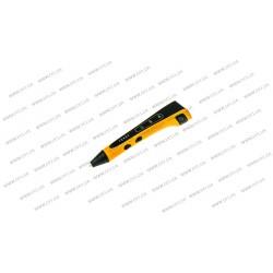 3D ручка DFI модель G8L (пластиковый корпус, сопло 0.75мм, ABS, PCL, PLA пластик 1.75мм, лед индикаторы режима работы, 3 режима скорости подачи пластика, лед индикатор, вес 48 грамм), цвет оранжевый