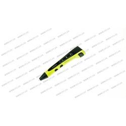 3D ручка DFI модель G8L (пластиковый корпус, сопло 0.75мм, ABS, PCL, PLA пластик 1.75мм, лед индикаторы режима работы, 3 режима скорости подачи пластика, лед индикатор, вес 48 грамм), цвет зеленый